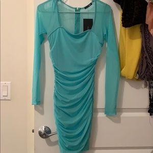 Mini mint Dress